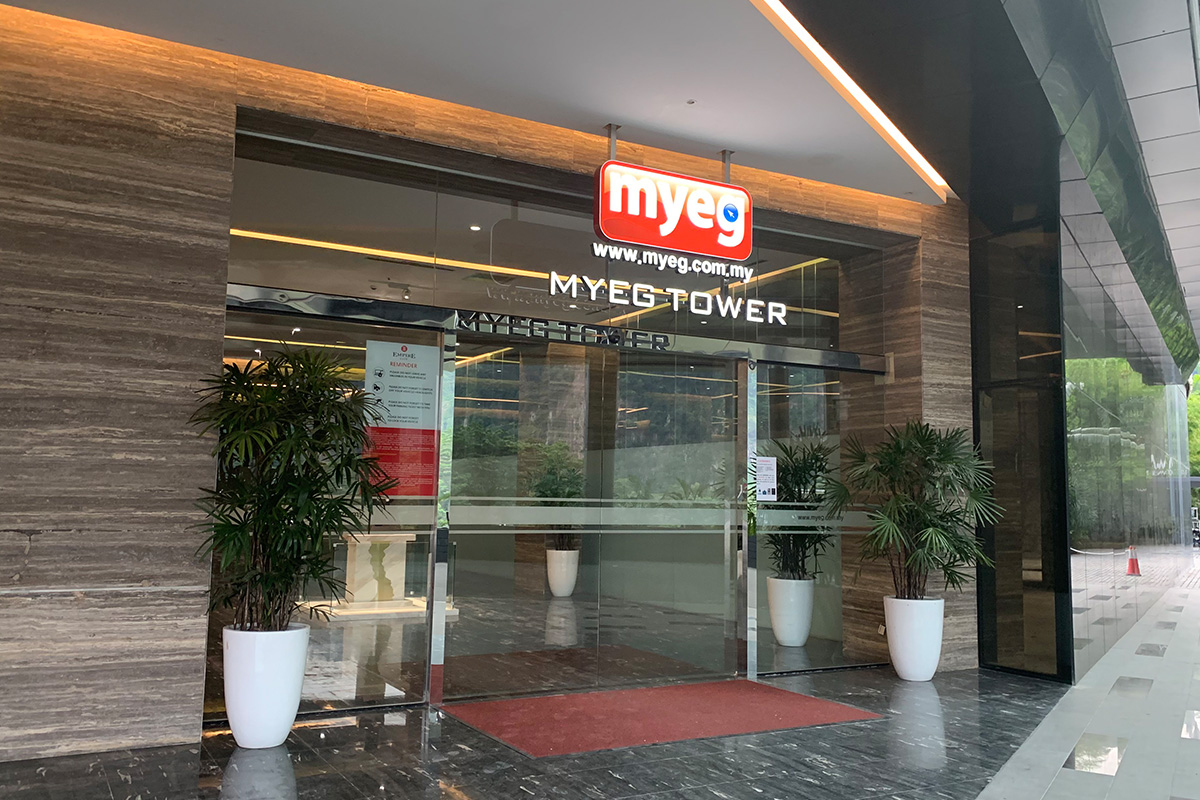 MYEG Tower drop-off 2